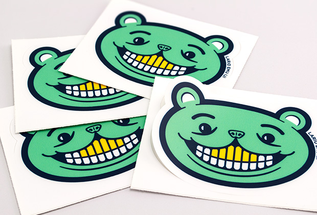 Kiss cut stickers printing uk