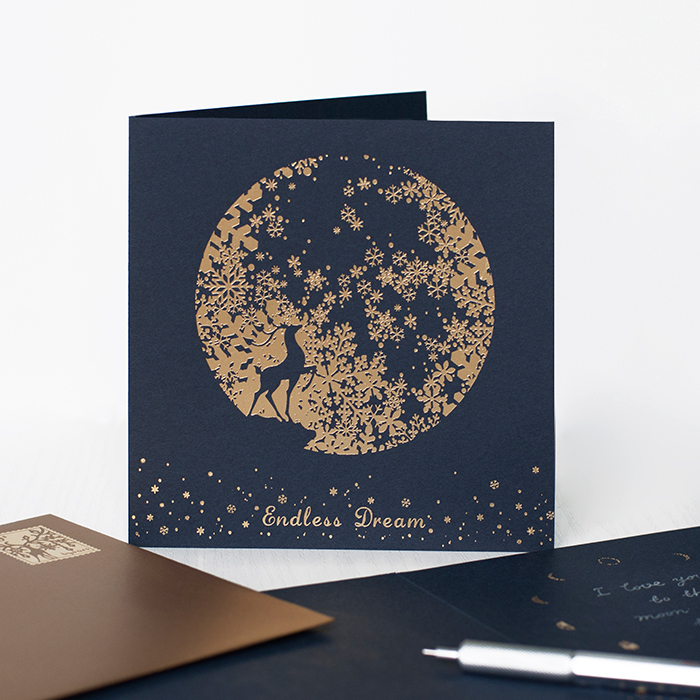 Copper Foil Greeting Cards UK