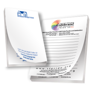 Custom Notepads Printing Services