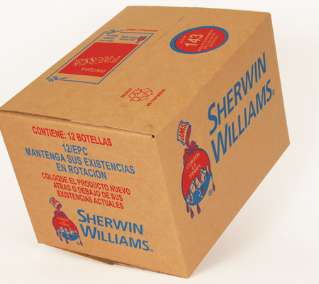 Full Colour Printed Corrugated Boxes UK