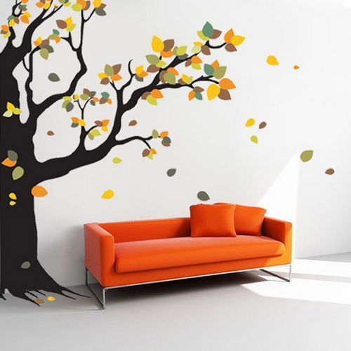 Wall decals uk wall stickers for bedrooms beeprinting london - Decorative wall sticker ...