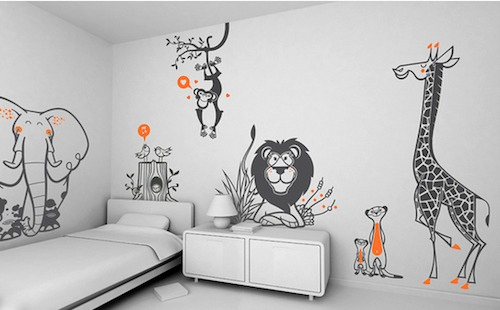 Wall Decals Uk | Wall Stickers For Bedrooms - Beeprinting London