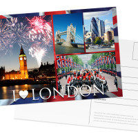 Full Colour London Postcard