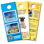 Full Colour Door Hangers Printing UK