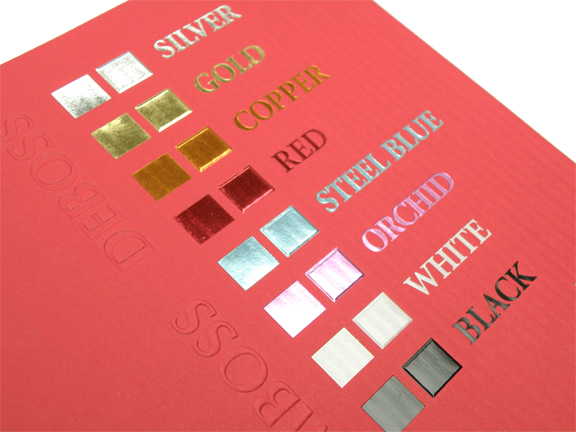 Foil Stamping UK | Hot Foil Printing Services London - BeePrinting