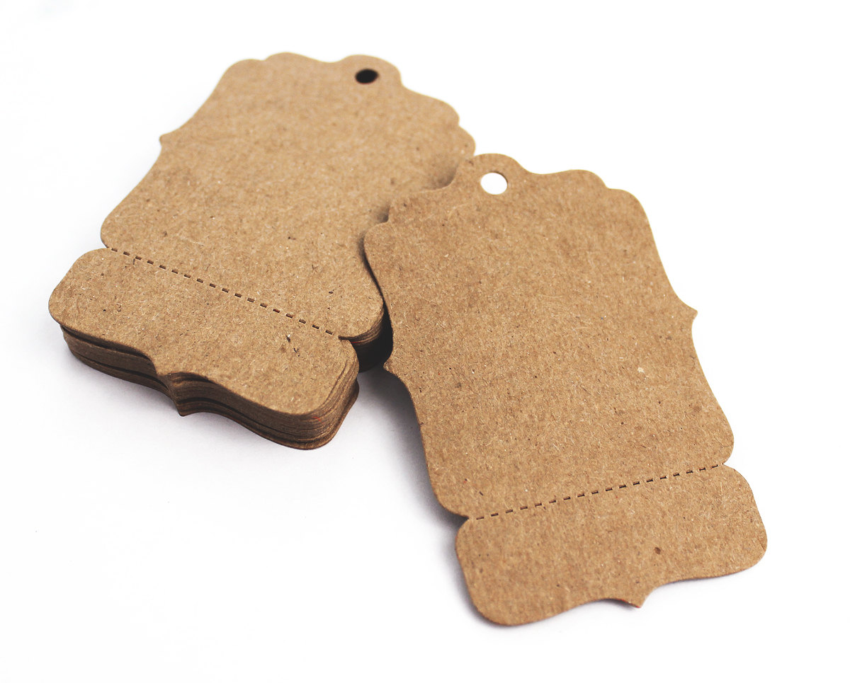 Die Cut Swing Tags With Perforation