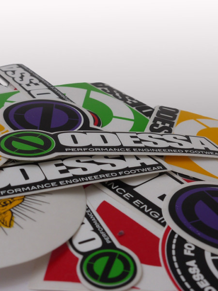 Die cut decals printing uk