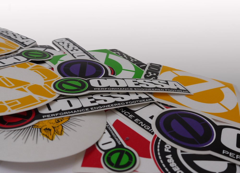 Die Cut Sticker Printing Uk