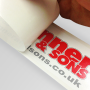 Reverse Sticker Printing UK