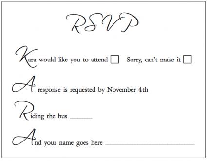 response cards uk