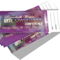 Event Tickets Printing