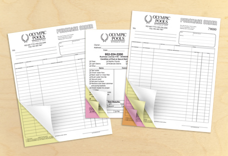 Custom Carbonless Forms Printing UK BeePrinting London - Carbonless invoices